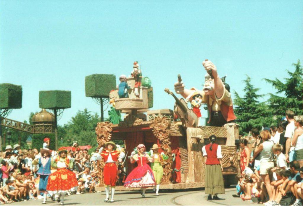 Pinocchio in the Wonderful World of Disney Parade