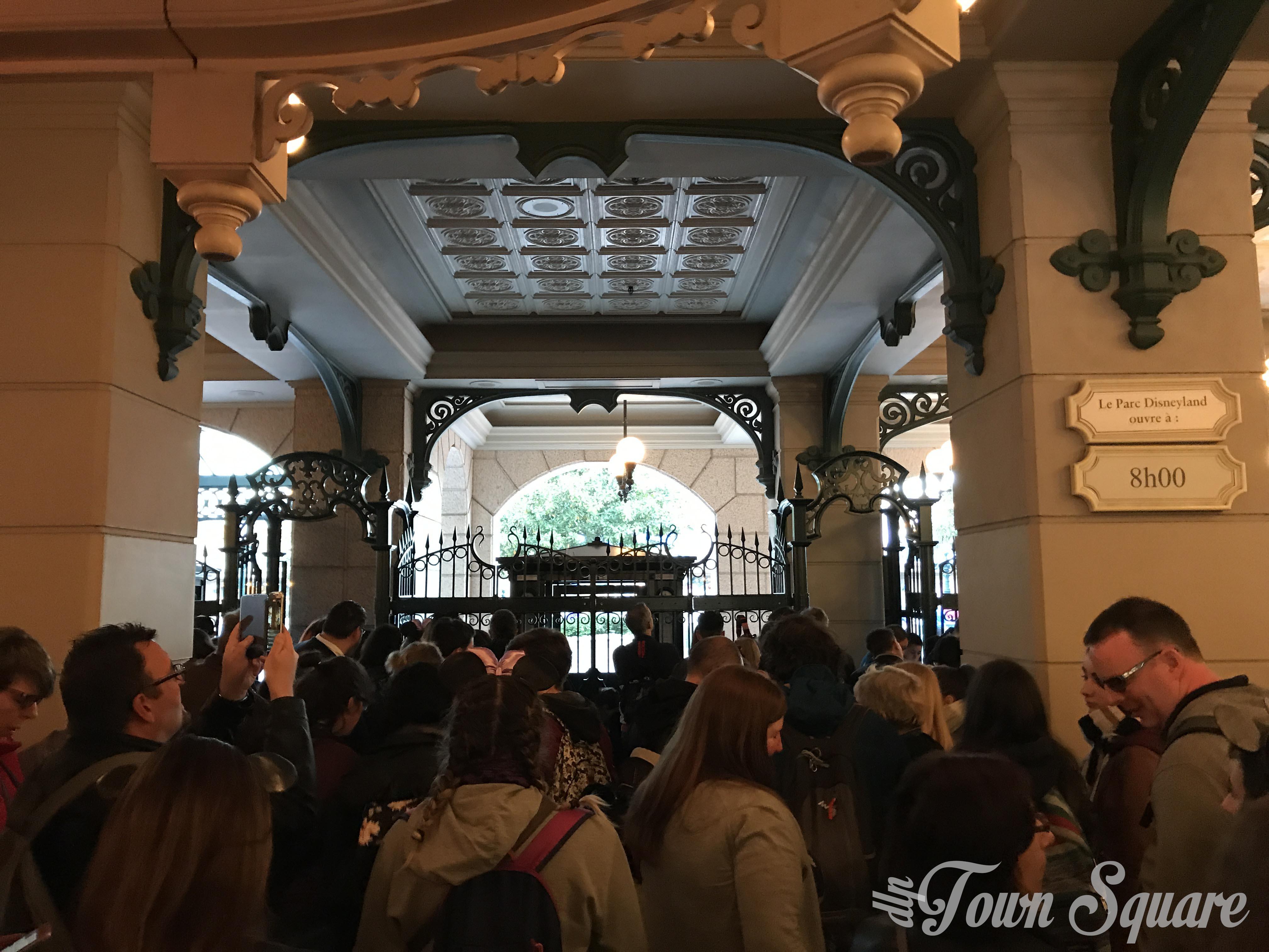 12th April 2017 Grand Celebration turnstile queue
