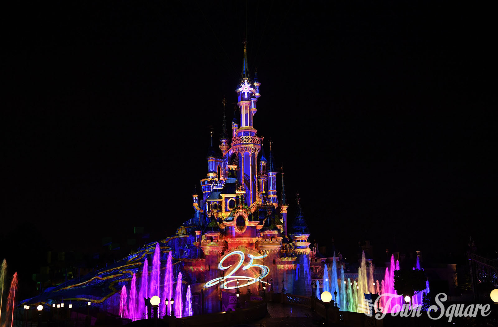 Disneyland Paris 25th anniversary castle