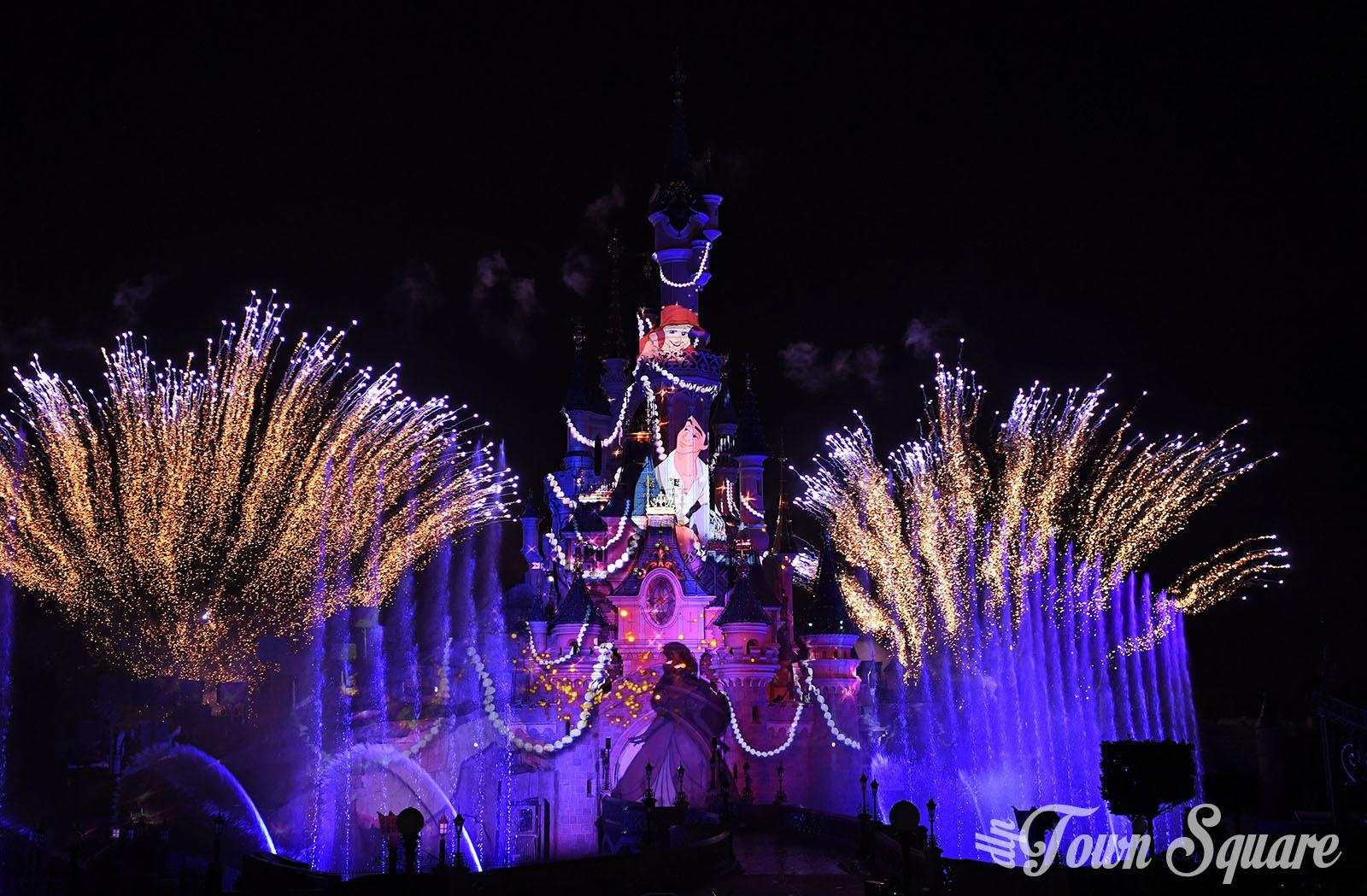 The Little Mermaid in Disney Illuminations