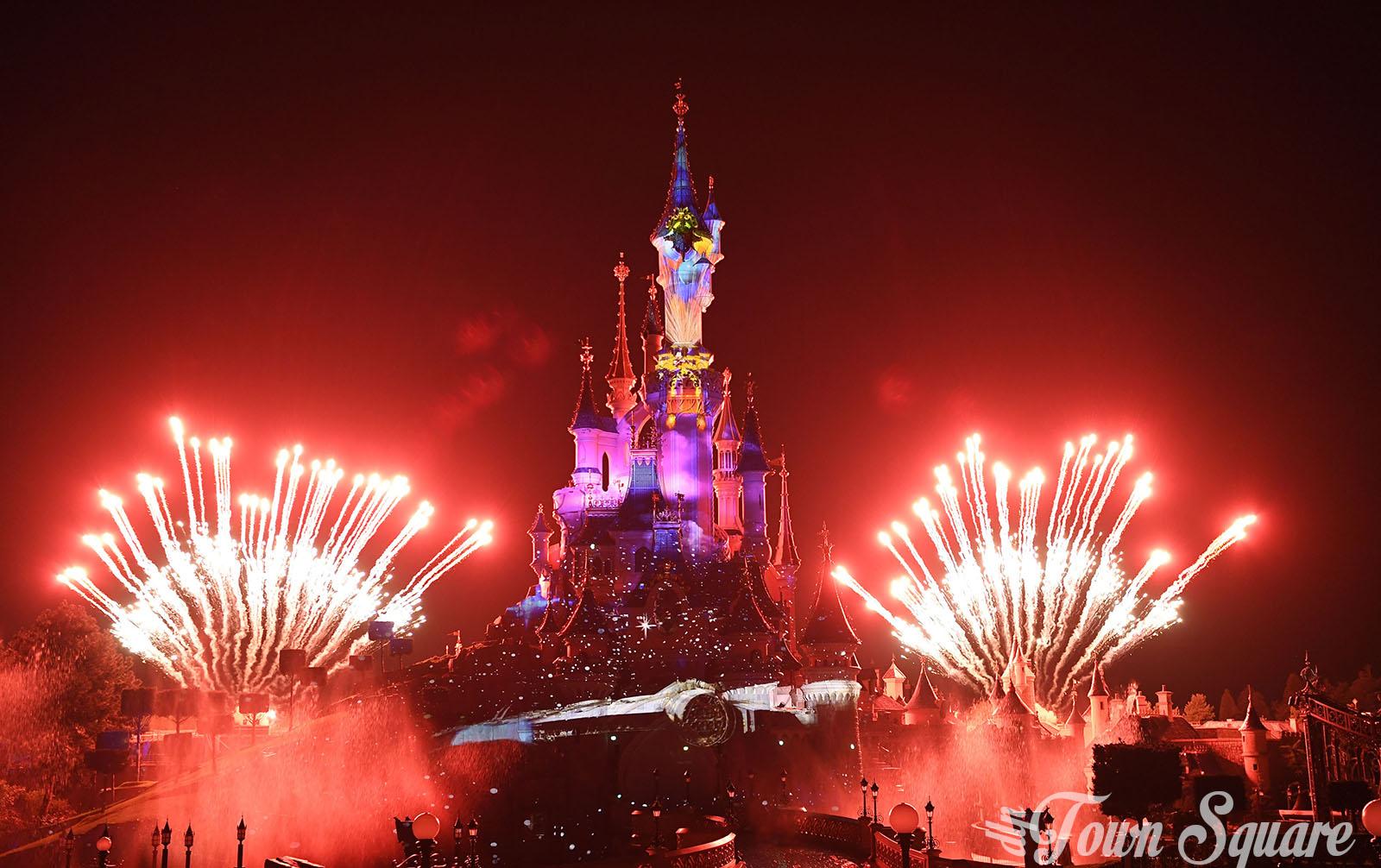 Star Wars in Disney Illuminations