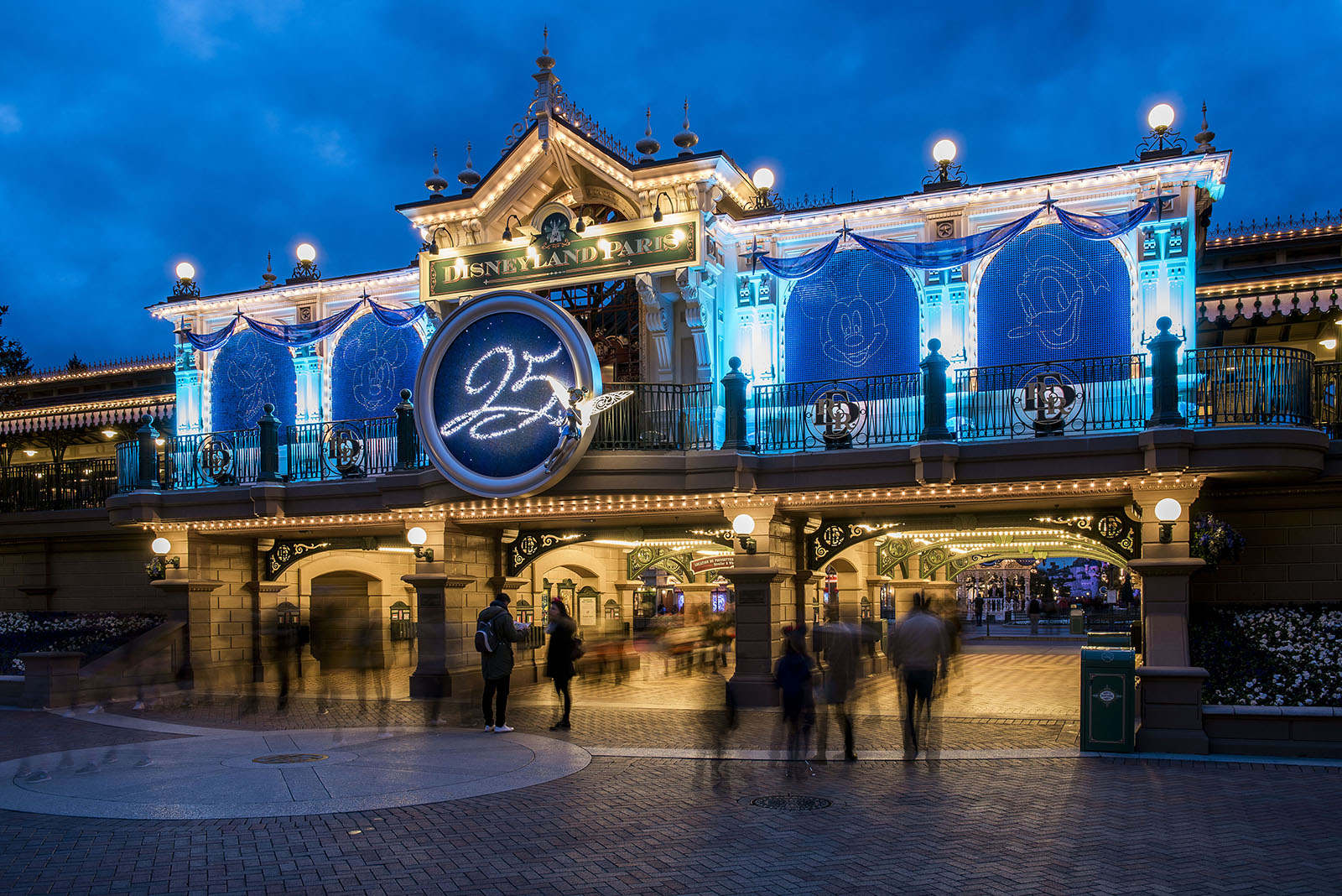 Main Street Station - Disneyland Paris 25th anniversary