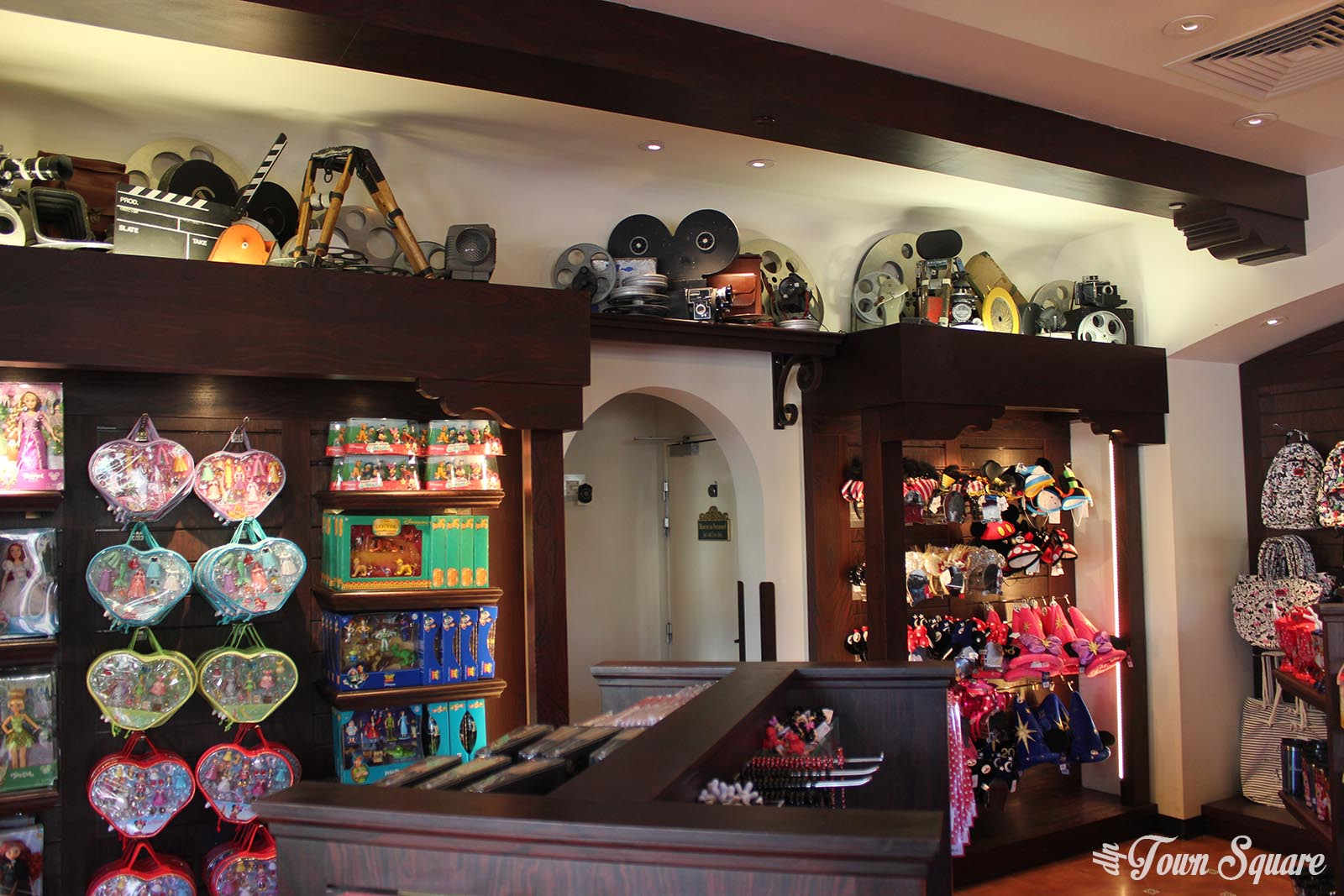 A shop in the Walt Disney Studios park at Disneyland Paris