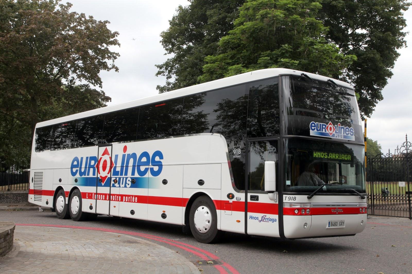 A eurolines coach