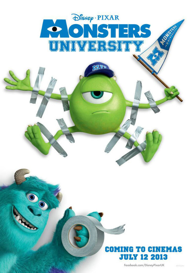 Monsters University publicity poster