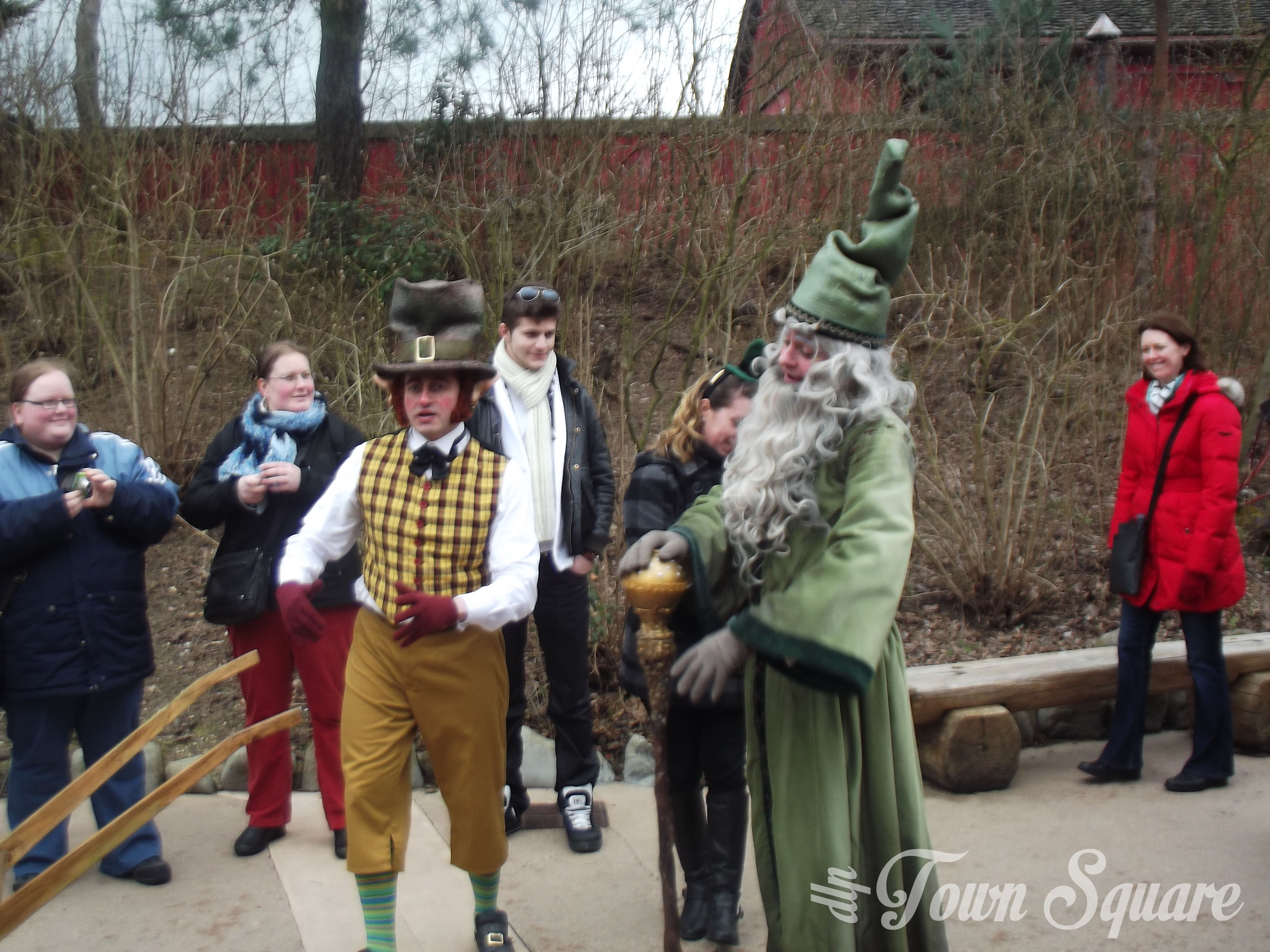 St. Patricks Day leprechauns at Disneyland Paris