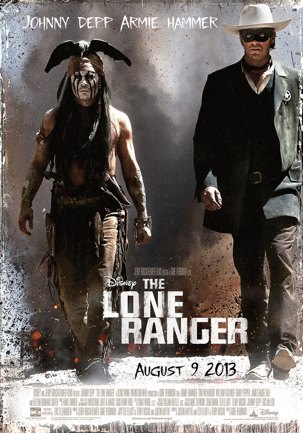 Tonto and the Lone Ranger on the film poster