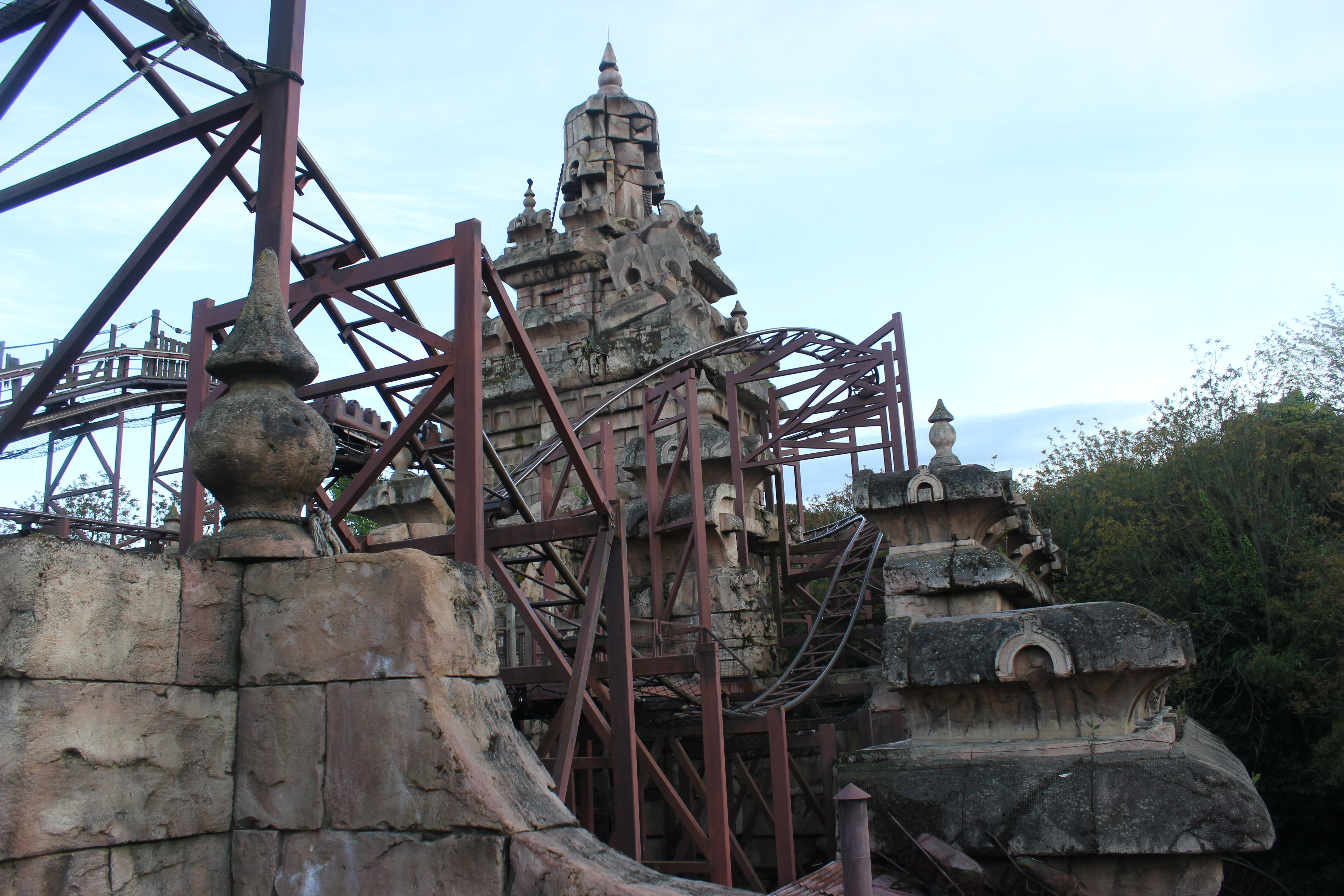 Indiana Jones and the Temple of Peril attraction
