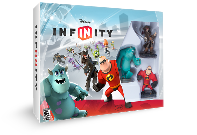 Disney Infinity Packaging.