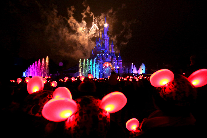 Light'Ears during the Brave scene of Disney Dreams!