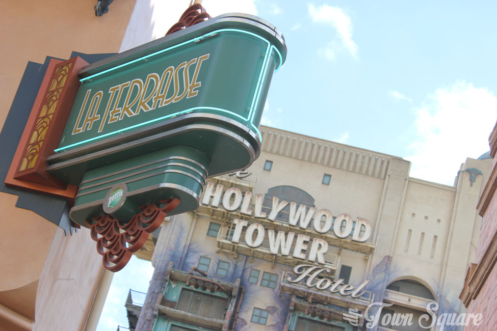 La Terasse and the Hollywood Tower Hotel