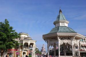 Town Square in Disneyland Park
