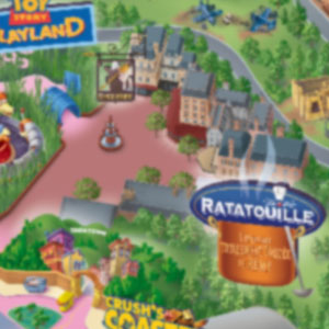 Ratatouille WDS Map Icon blurred
