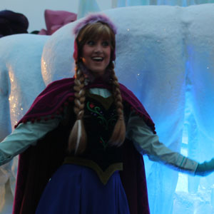 Princess Anna from Disney's Frozen