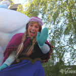 Anna in Disney Magic on Parade