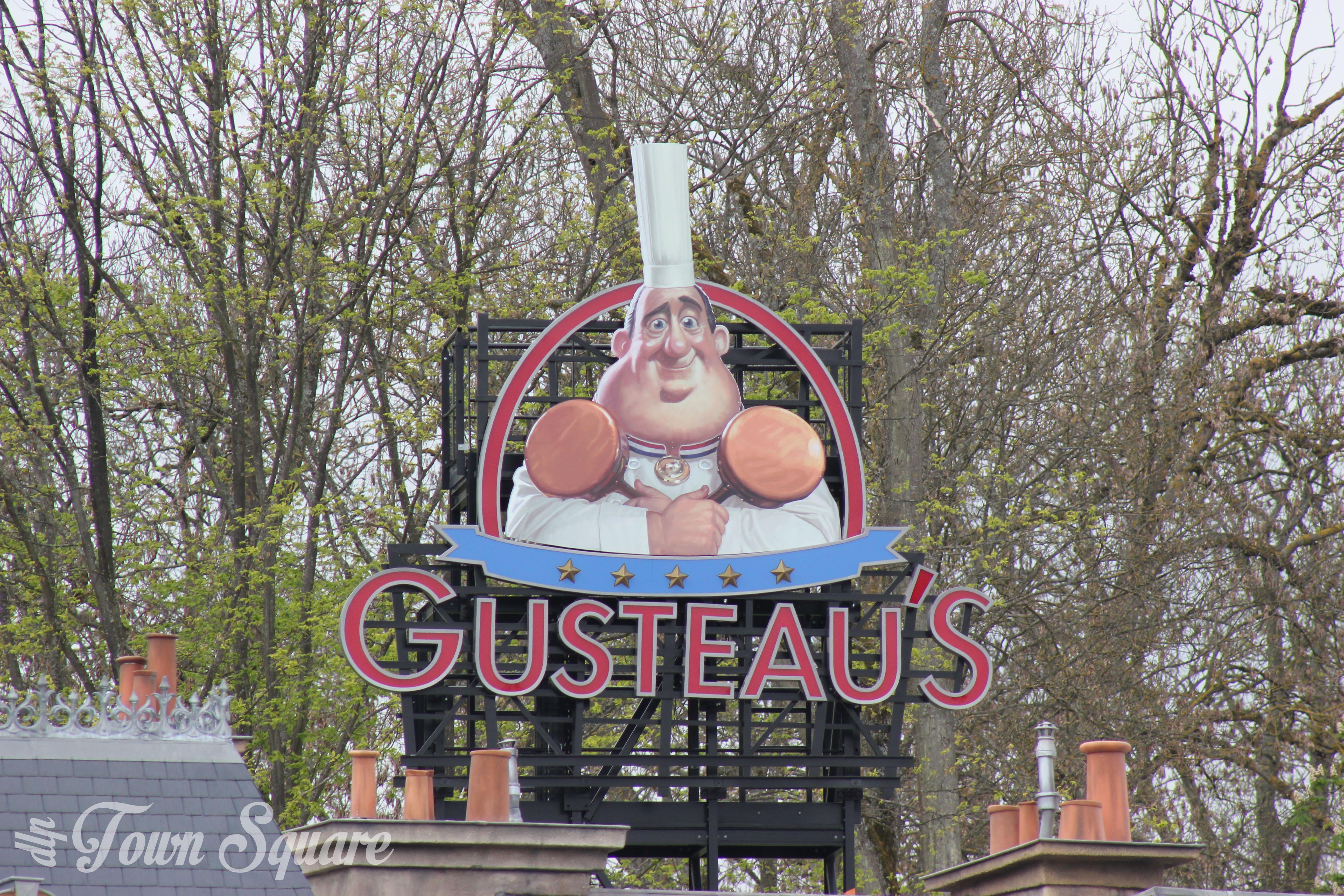 The Gusteau sign at Disneyland Paris Walt Disney Studios Park