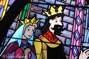 King Stefan and Queen Leah in Disneyland Paris