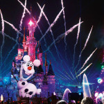 Olaf during Disney Dreams! of Christmas