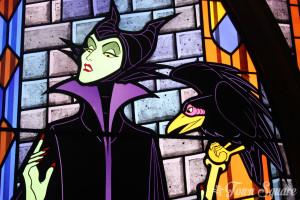 Maleficent in Disneyland Paris