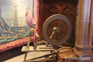 Spinning Wheel, Disneyland Paris Castle
