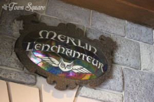 Merlin Store entrance, Disneyland Paris