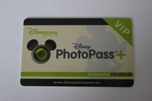 PhotoPass+ card, Disneyland Paris