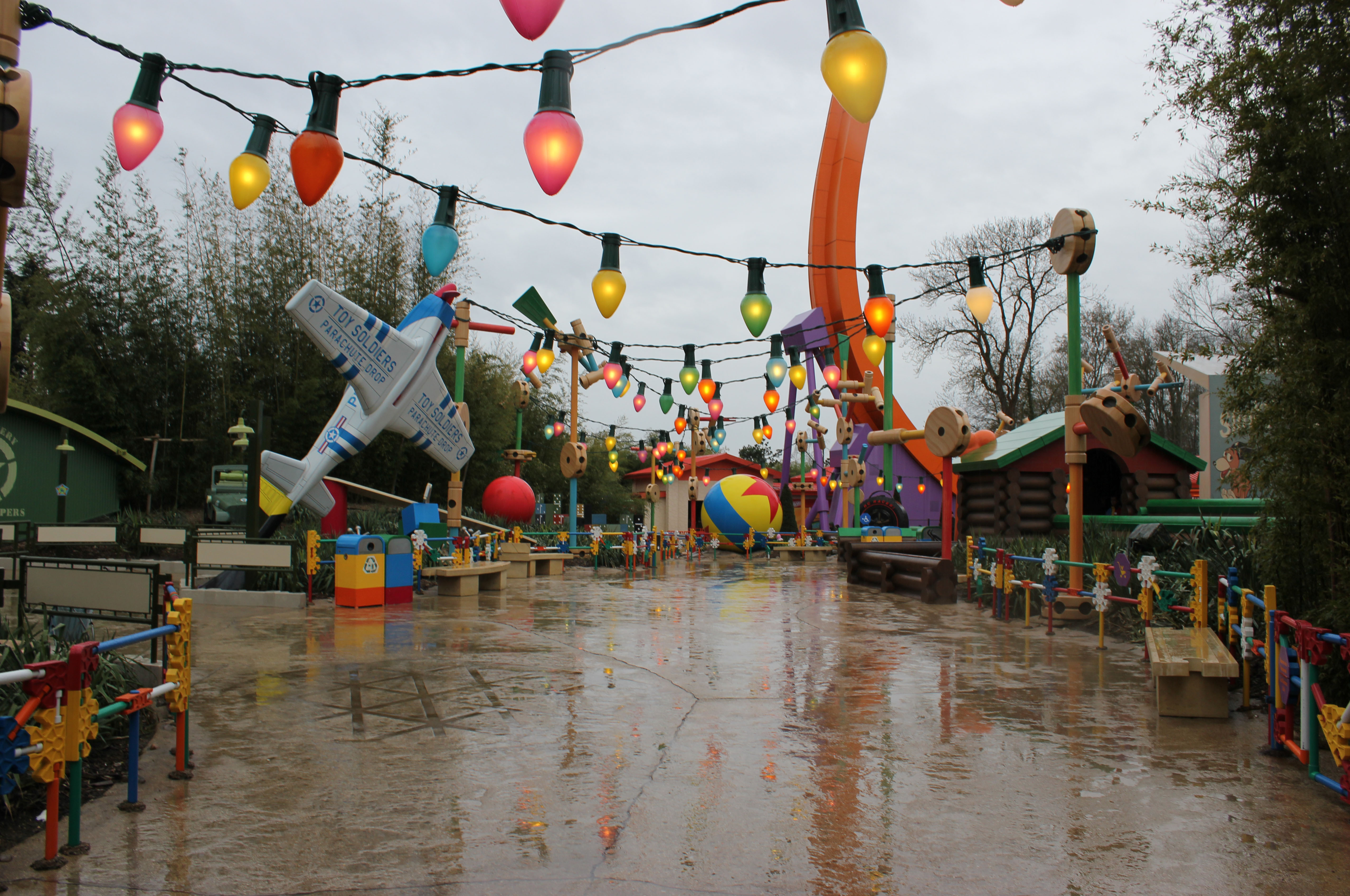 Toy Story Playland in the Walt Disney Studios Park at Disneyland Paris