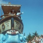 Mickey and Minnie in the Wonderful World of Disney parade