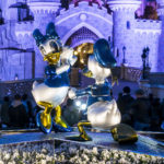 Central Plaza statues - Disneyland Paris 25th anniversary