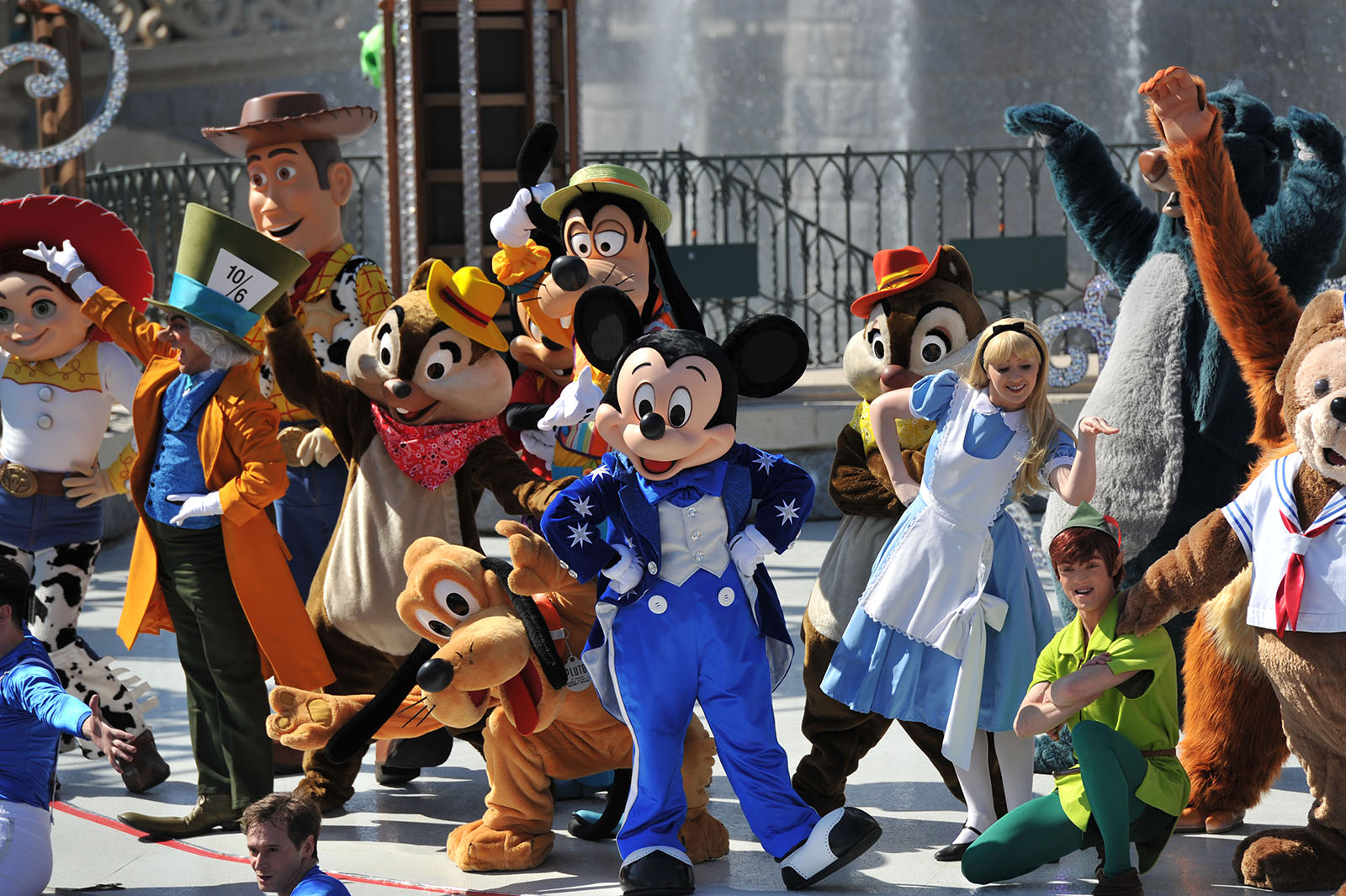 Happy Anniversary Disneyland Paris - Characters