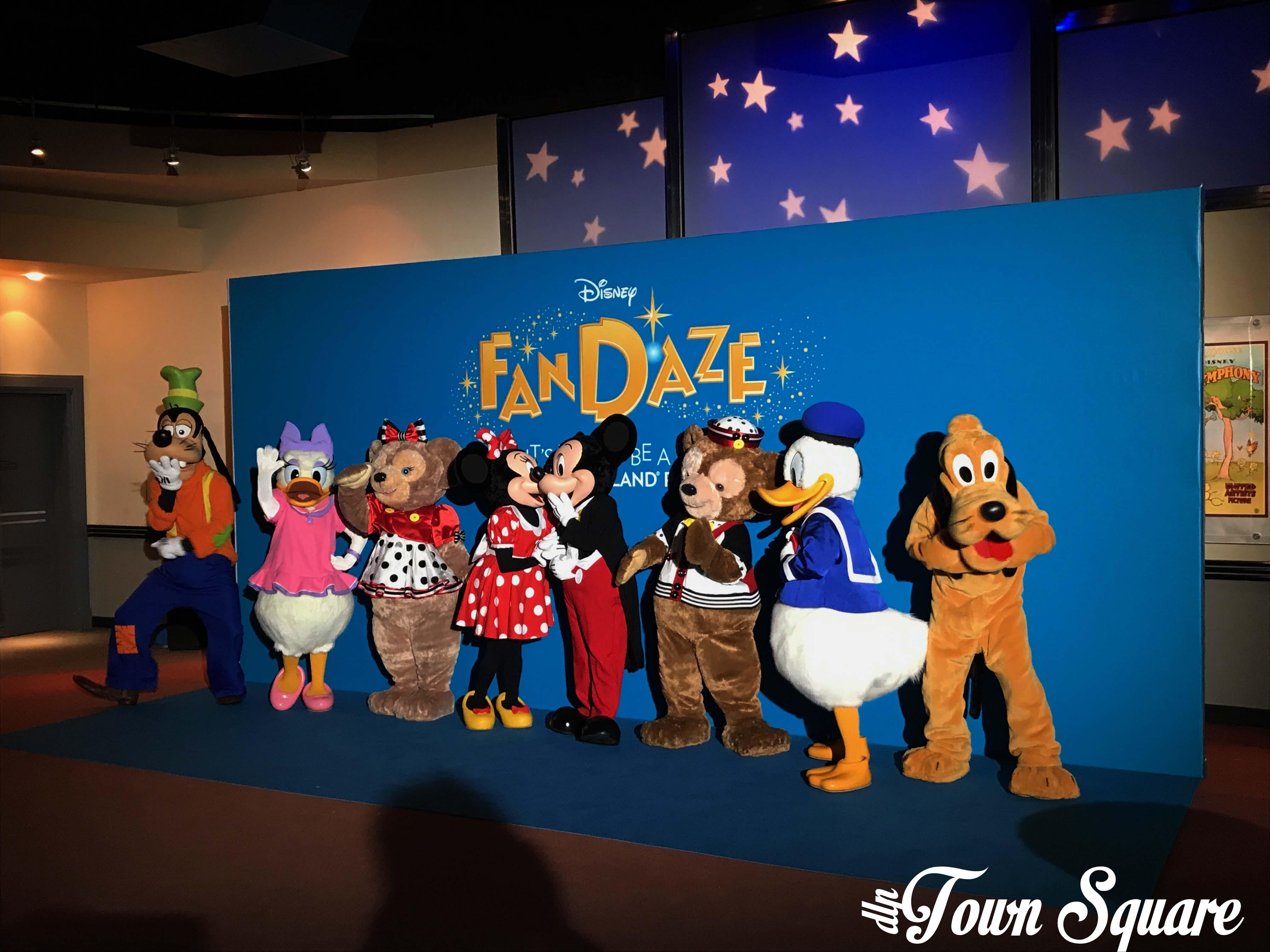 The Disney FanDaze Characters