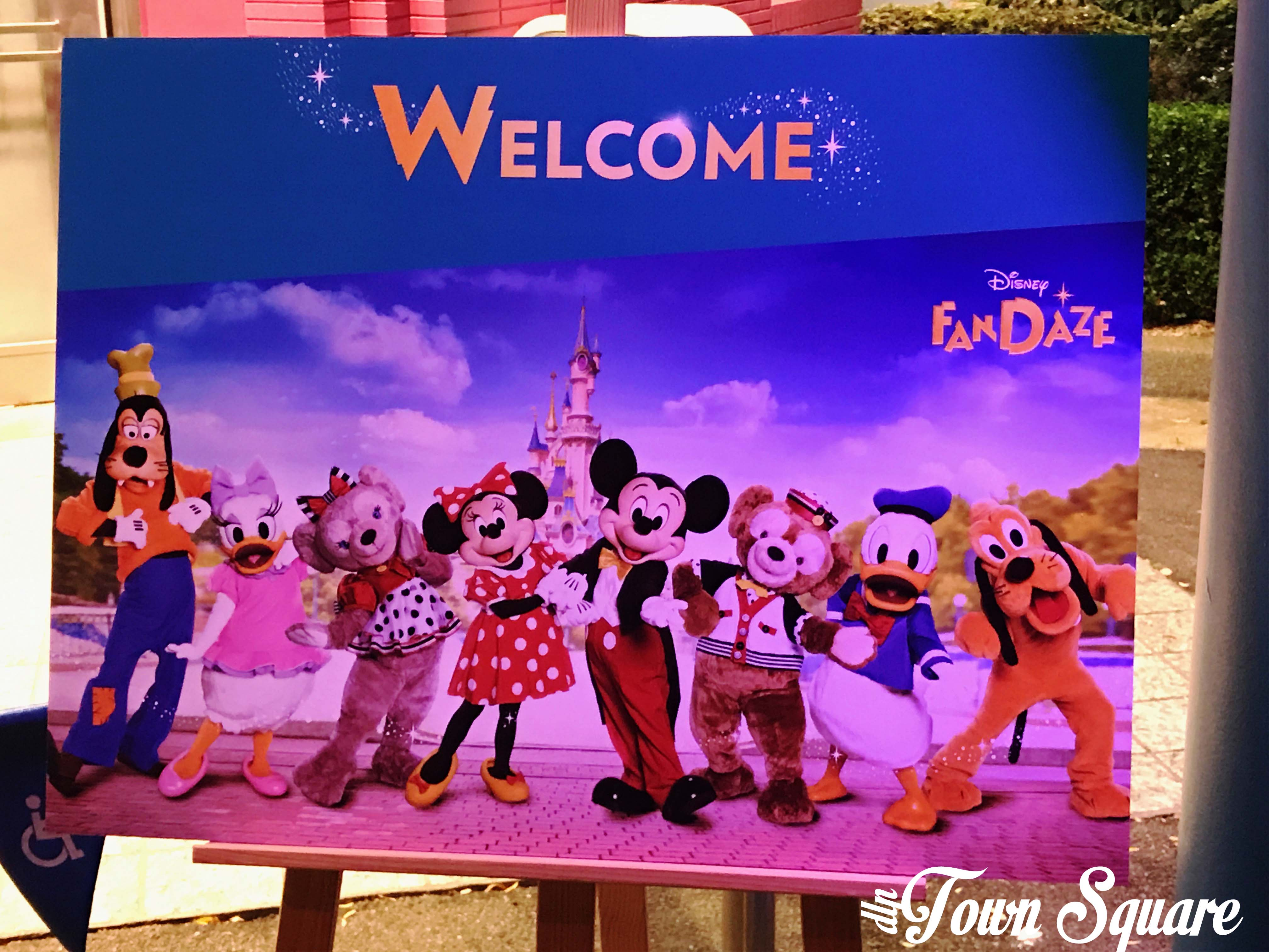 Disney FanDaze Welcome