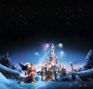 Disneyland Paris Christmas 2017 visual