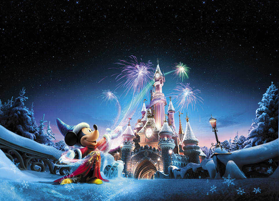 Disneyland Paris Christmas 2017 visual