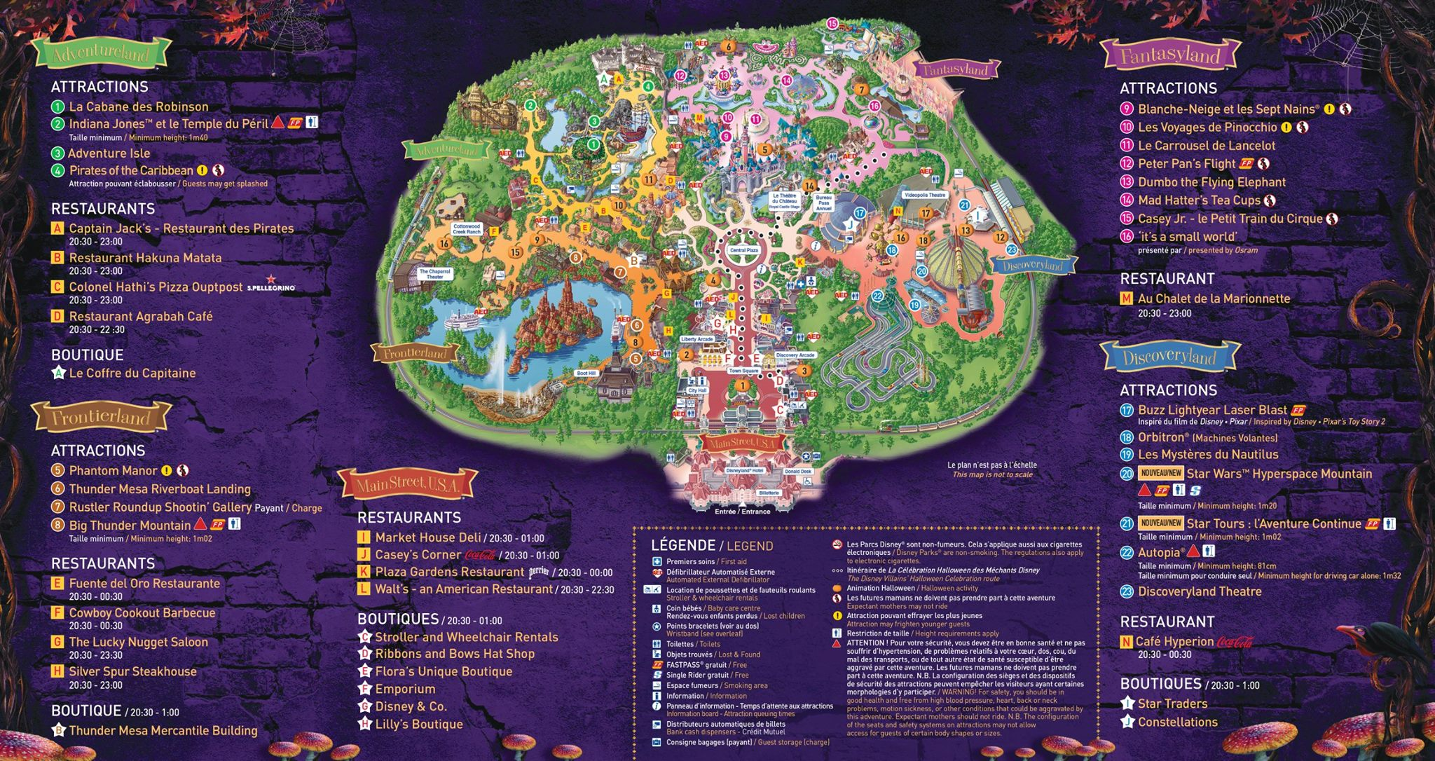 Disneyland Paris Karte 2018.100 Map Of Disney Paris Yasminroohi