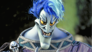Hades at Disney FanDaze at Disneyland Paris - Heroes and Villains Alley