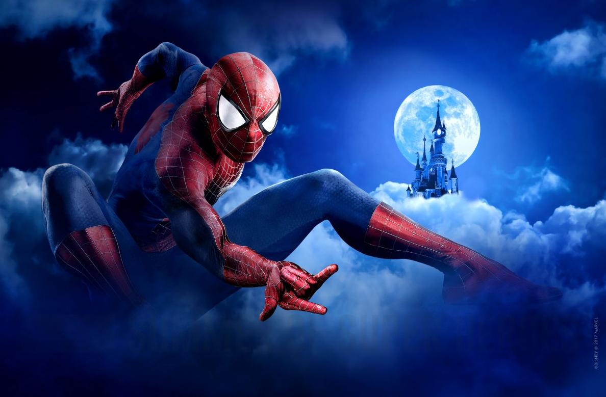 Spider-Man at Marvel Summer of Heroes at Disneyland Paris