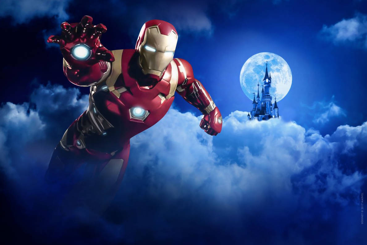 Iron Man at Marvel Summer of Heroes at Disneyland Paris