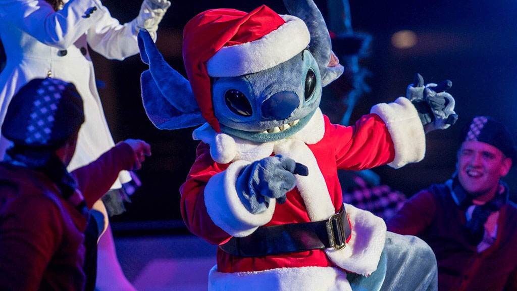 Merry Stitchmas at Disneyland Paris