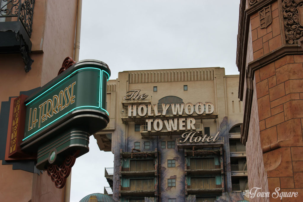 Tower of Terror at Disneyland Paris