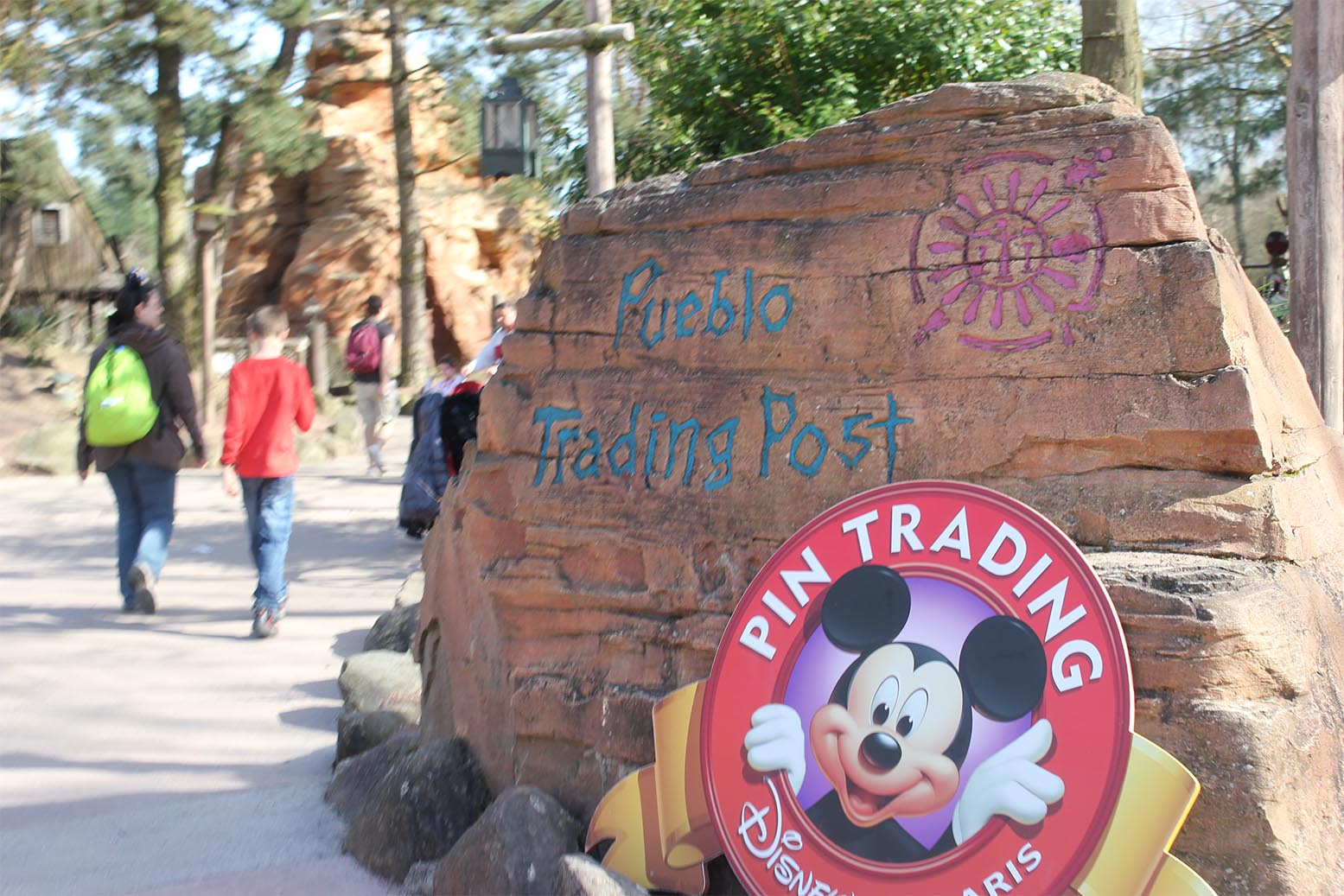 Pueblo Trading Post at Disneyland Paris