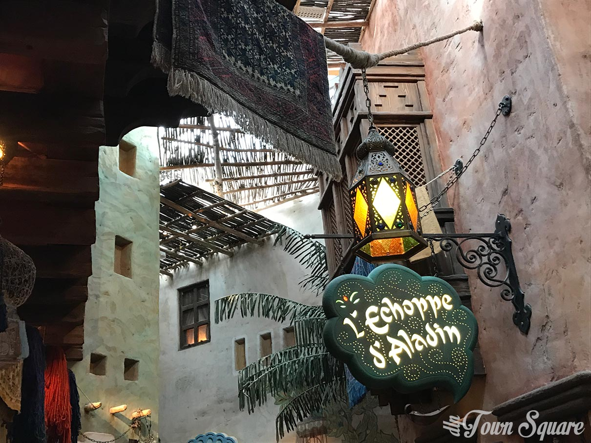 The Agrabah Café at Disneyland Paris