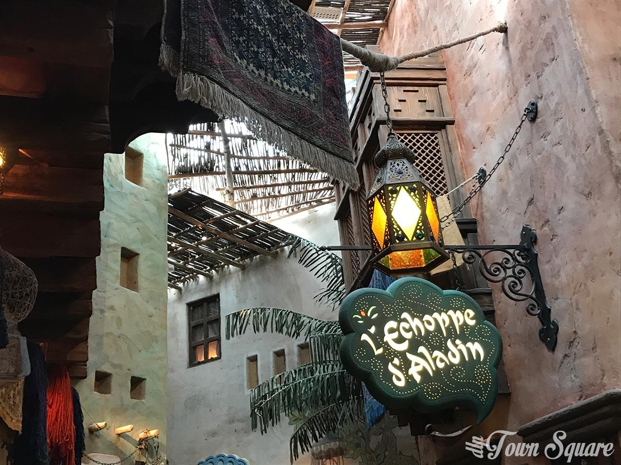 The Agrabah Café at Disneyland Paris