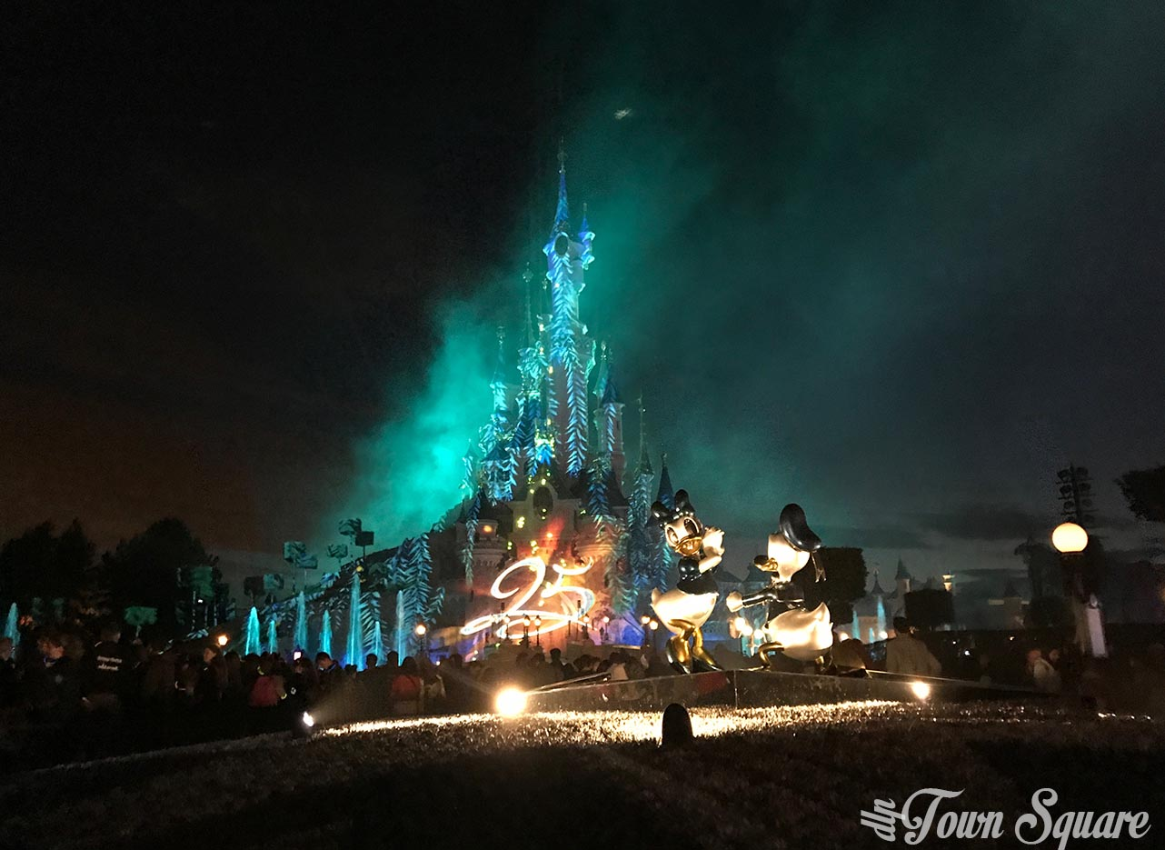 Disney Illuminations at Disneyland Paris