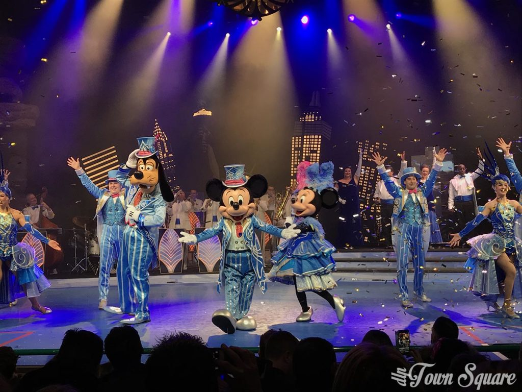 Mickey's Christmas Big Band at Disneyland Paris