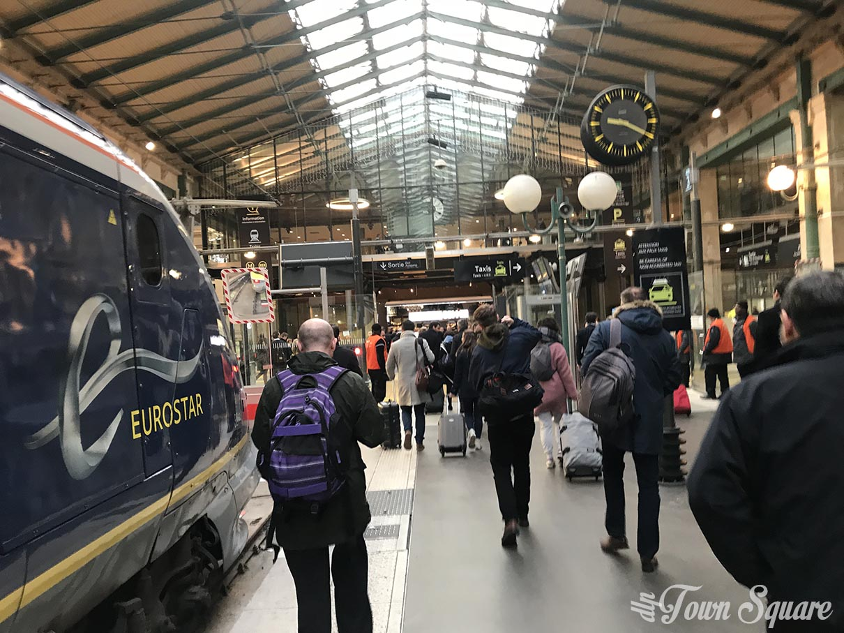 Gare du Nord - Eurostar arrivals