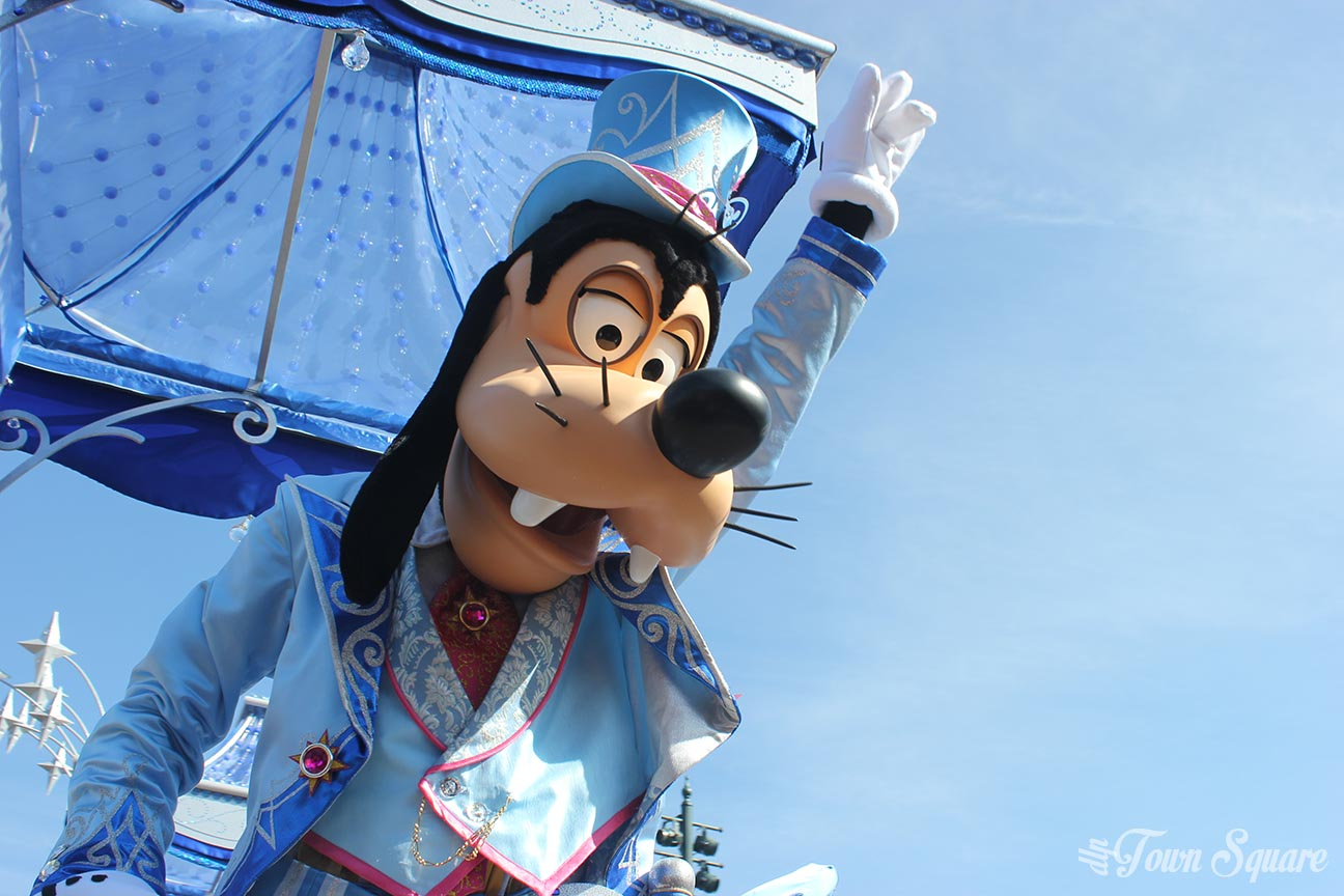 Goofy at the Grand Celebration at Disneyland Paris on April 12th 2017