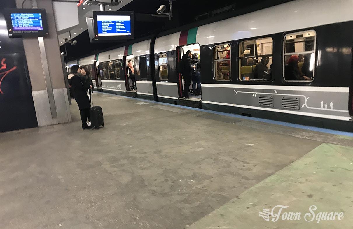 RER B Train