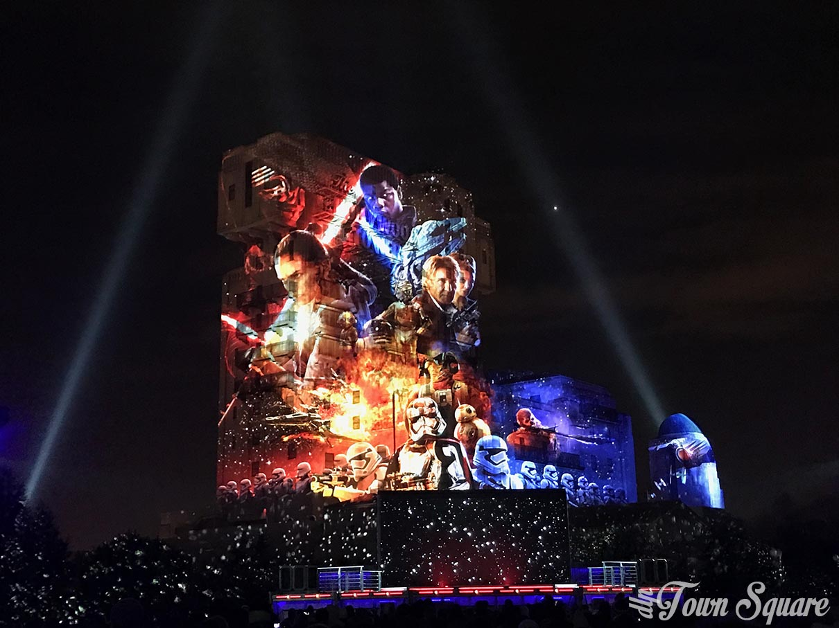 Star Wars: A Galactic Celebration, part of Season of the Force at Disneyland Paris