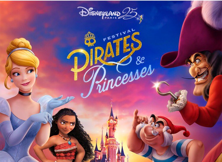 Pirates and Princesses logo